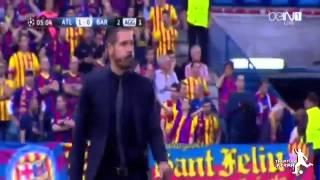 أهداف مباراة اتلتيكو مدريد ضد برشلونة 1-0 || 09/04/2014 || دوري ابطال اوروبا 13-14