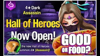 SUMMONERS WAR : Isabelle the Dark Assassin Hall of Heroes - Good or Food?