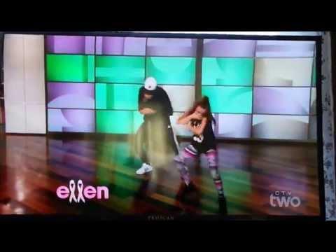 Taylor Hatala on the Ellen Degeneres Show