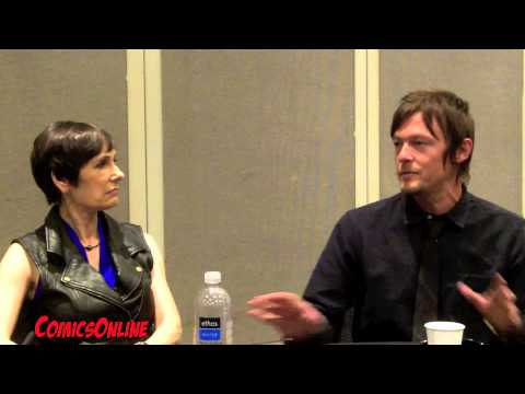 The Walking Dead - Interview with Norman Reedus and Gale Anne Hurd