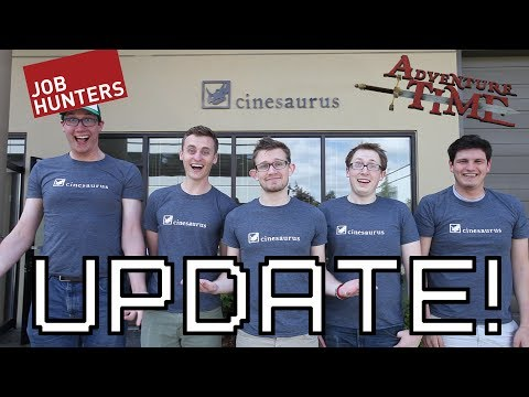 UPDATE! Adventure Time, Job Hunters, VidCon & More!