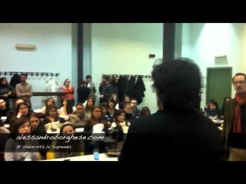 Alessandro Borghese @ Università La Sapienza