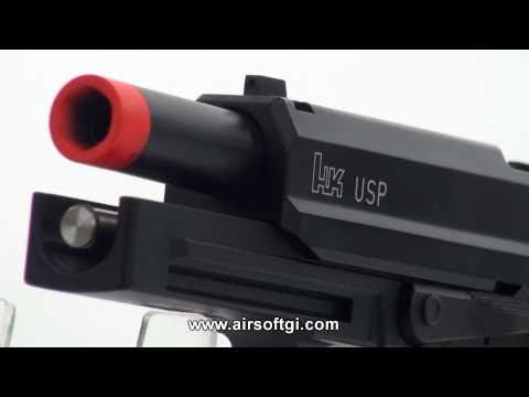 Airsoft GI - Heckler & Koch USP NS2 GBB by KWA Review (Licensed by Umarex)