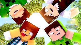 Minecraft : QUANDO A FAMILIA CRAFT SE JUNTA ISSO ACONTECE !!