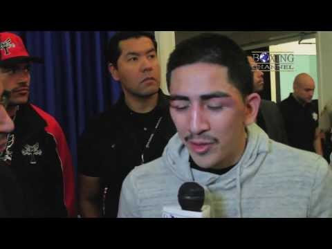 Leo Santa Cruz was expecting tougher fight w Mijares Looks forward to Frampton