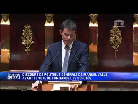 L'intégralité du discours de politique générale de Manuel Valls - 08/04
