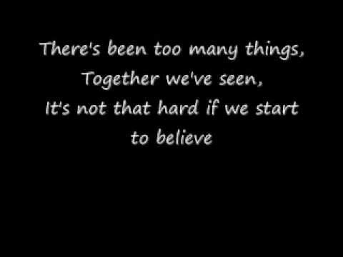 BACKSTREET BOYS - ANSWER TO OUR LIFE LYRICS