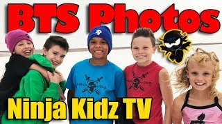BTS Ninja Kidz TV Photoshoot - New Merch Revealed!