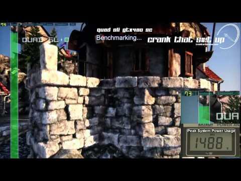 Gtx 480 quad Sli Heaven 2.0 extreme Benchmark