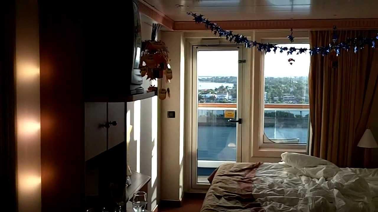 Carnival liberty balcony stateroom 1062 youtube for Balcony room cruise ship