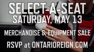 2017 Ontario Reign Equipment Sale Teaser 2
