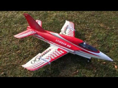 Freewing 90mm 12-Blade Metal EDF Stinger Extreme Performance Jet