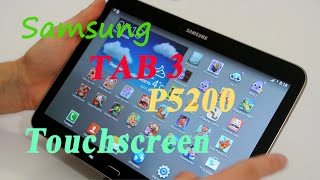 Ремонт Samsung tab 3 P5200 Замена сенсора - Touch screen replacement