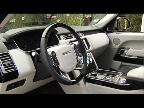 Nuova Range Rover 2013 interni e particolari