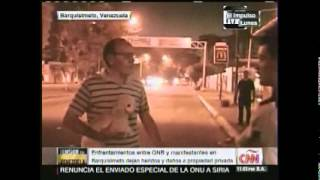 CNN presento video de enfrentamientos