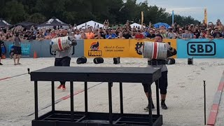 BRIAN SHAW vs MARTINS LICIS - LOADING RACE @ FINALS WORLD'S STRONGEST MAN 2019