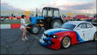 Питерские тракторы настолько суровы драг Автодром СПб