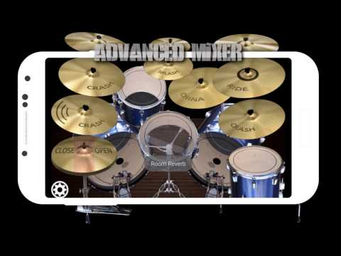 Simple Drums Rock - Realistic Drum Set APK Cover