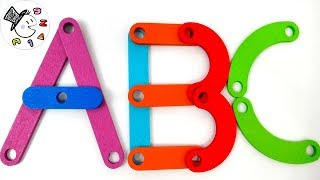ABC Song For Kids | Wooden ABC for Baby Children Toddler