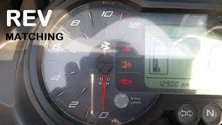 What is Rev Matching | Downshift | How to Rev Match | On a Motorcycle