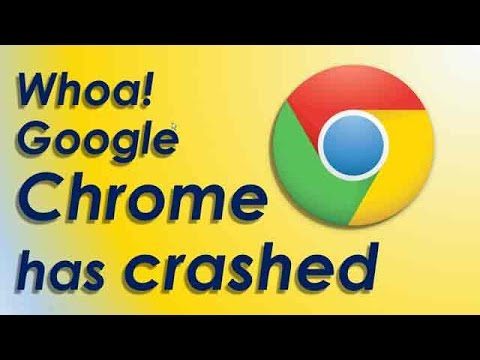 whoa google chrome has crashed. relaunch now fix