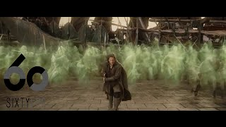 [60FPS] Lord of the Rings Ghost Army Scene 60FPS HFR HD