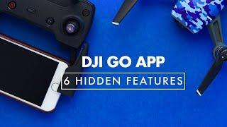6 Hidden Features DJI GO App | DJI Spark