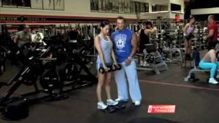 Instructional Fitness - Stiff-legged Deadlifts With Dumbbells