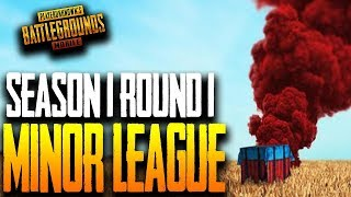 S1E1 B MINOR LEAGUES PUBG MOBILE