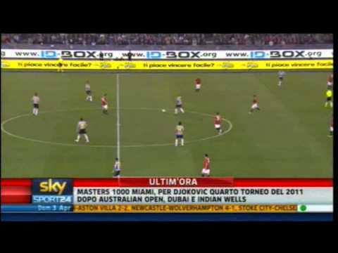 Roma - Juventus 0-2 | Highlights Sintesi Sky Sport 24 | 03/04/2011 | 31^ giornata serie A | HQ