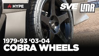 1979-1993 Fox Body Mustang SVE 2003 Cobra Style Wheels (4 Lug)
