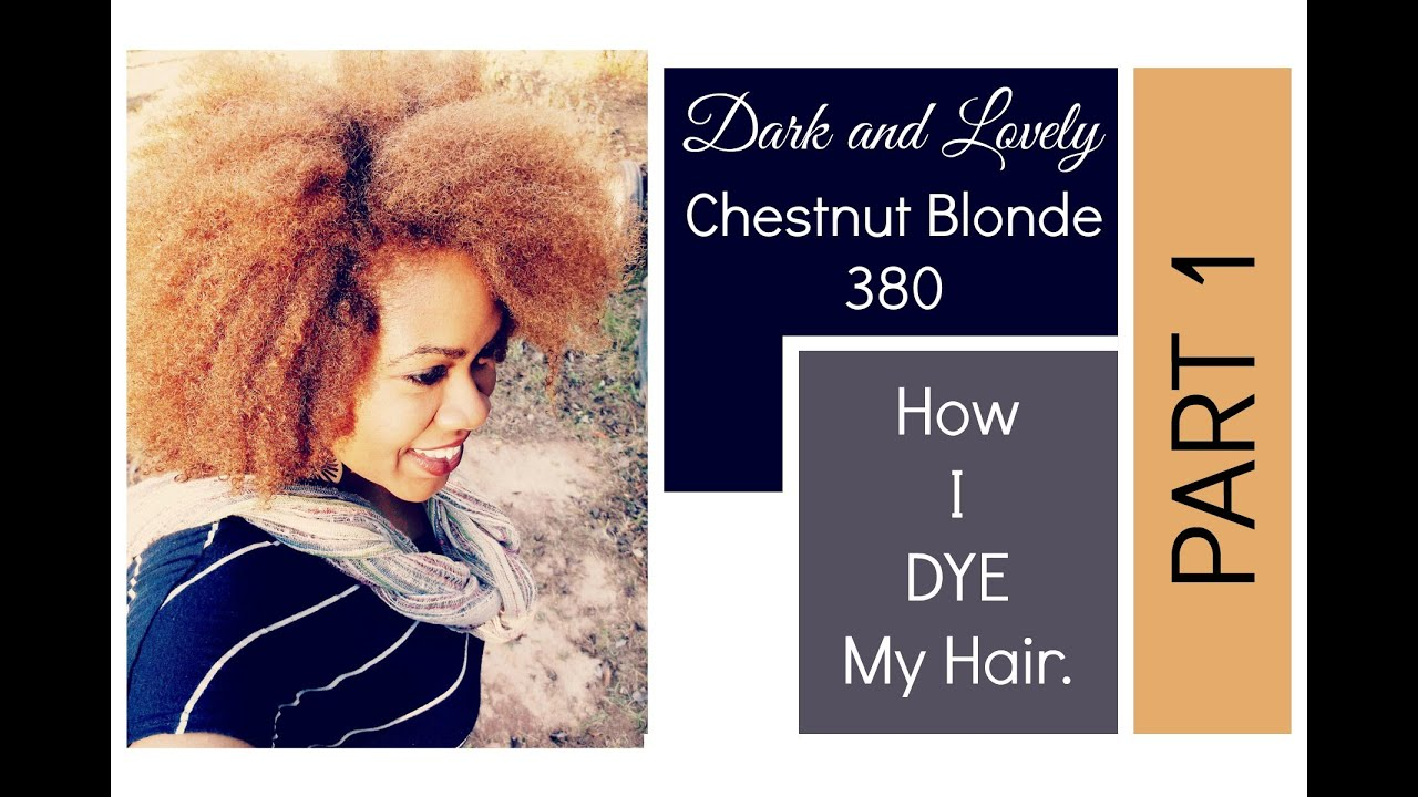 Naturally Michy How I Color My Natural Hair With Dark
