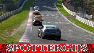Traffic Jam on the Nürburgring Nordschleife!