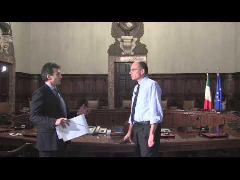 Intervista del Presidente del Consiglio, Enrico Letta, a Rai Sport