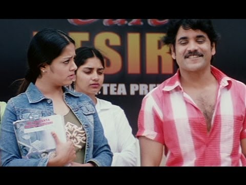 Nagarjuna proposes Jyothika in public - Meri Jung One Man Army...