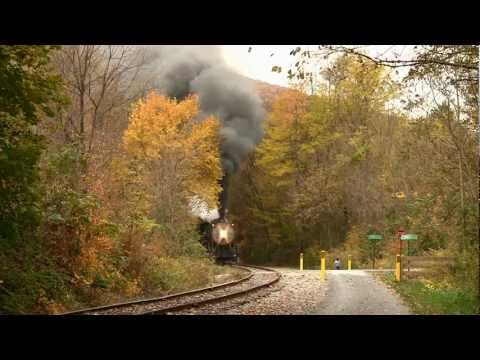 Western Maryland Railroad, Cumberland in October