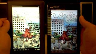 Acer Iconia A100 vs Nook Color