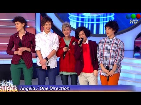 Angela Torres es One Direction en Tu cara me suena 2014 -