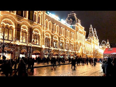 GUM - ГУМ - The Most Beautiful Department Store in Moscow