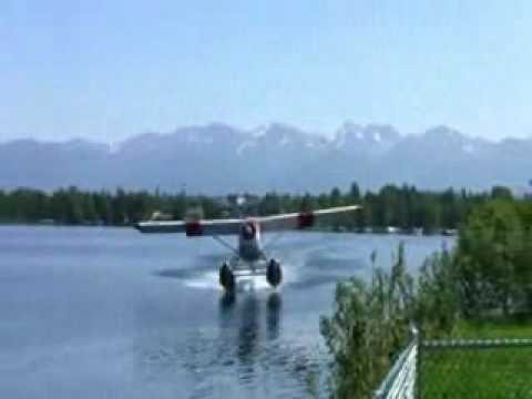 how not to take off in a seaplane