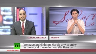 'Caracas chaos promoted by US with regime change aim' - (Venezuela) minister  2/21/14