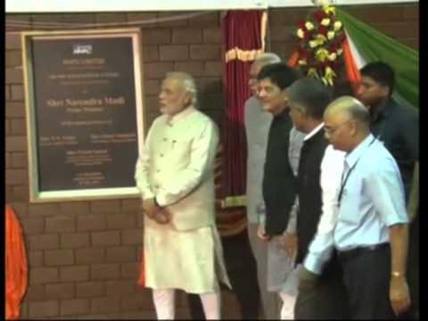 Indian PM Narendra Modi inaugurates hydroelectric dam in Jammu and Kashmir