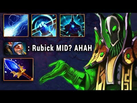 GH на МИДОВОМ РУБИКЕ - RUBICK vs MEEPO DOTA 2