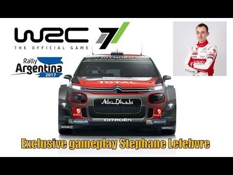 WRC 7 FIA World Rally Championship - Stephane Lefebvre | Stage El Condor Argentina