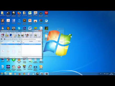 สอนลงโปรแกรม Microsoft office 2010