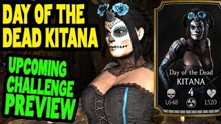 Day of the Dead Kitana Challenge (MKX Mobile). Who you need for last towers and BOSS BATTLE.
