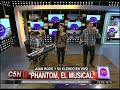 C5N - VIVA LA TARDE: PRESENTACION DE PHANTOM, EL MUSICAL