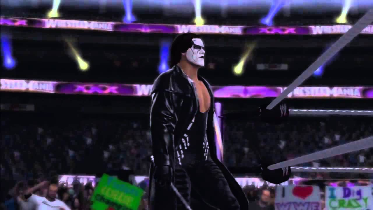 WWE 2K15 - Crow Sting Entrance, Signature & Finishers ...