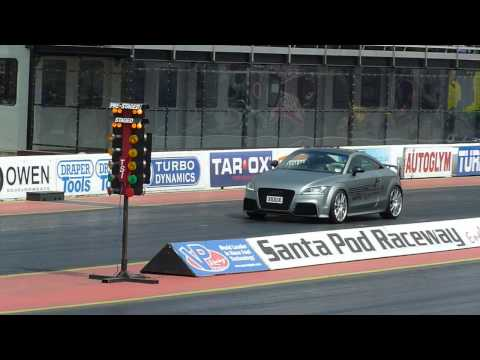 UK APR TUNED AUDI TTRS@SANTAPOD