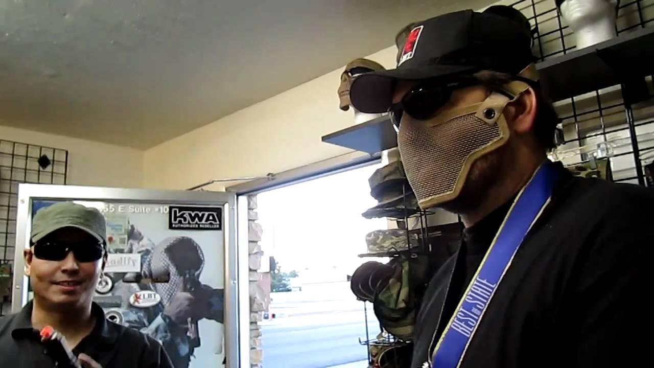 Steele Mask Steel Half Face Mask